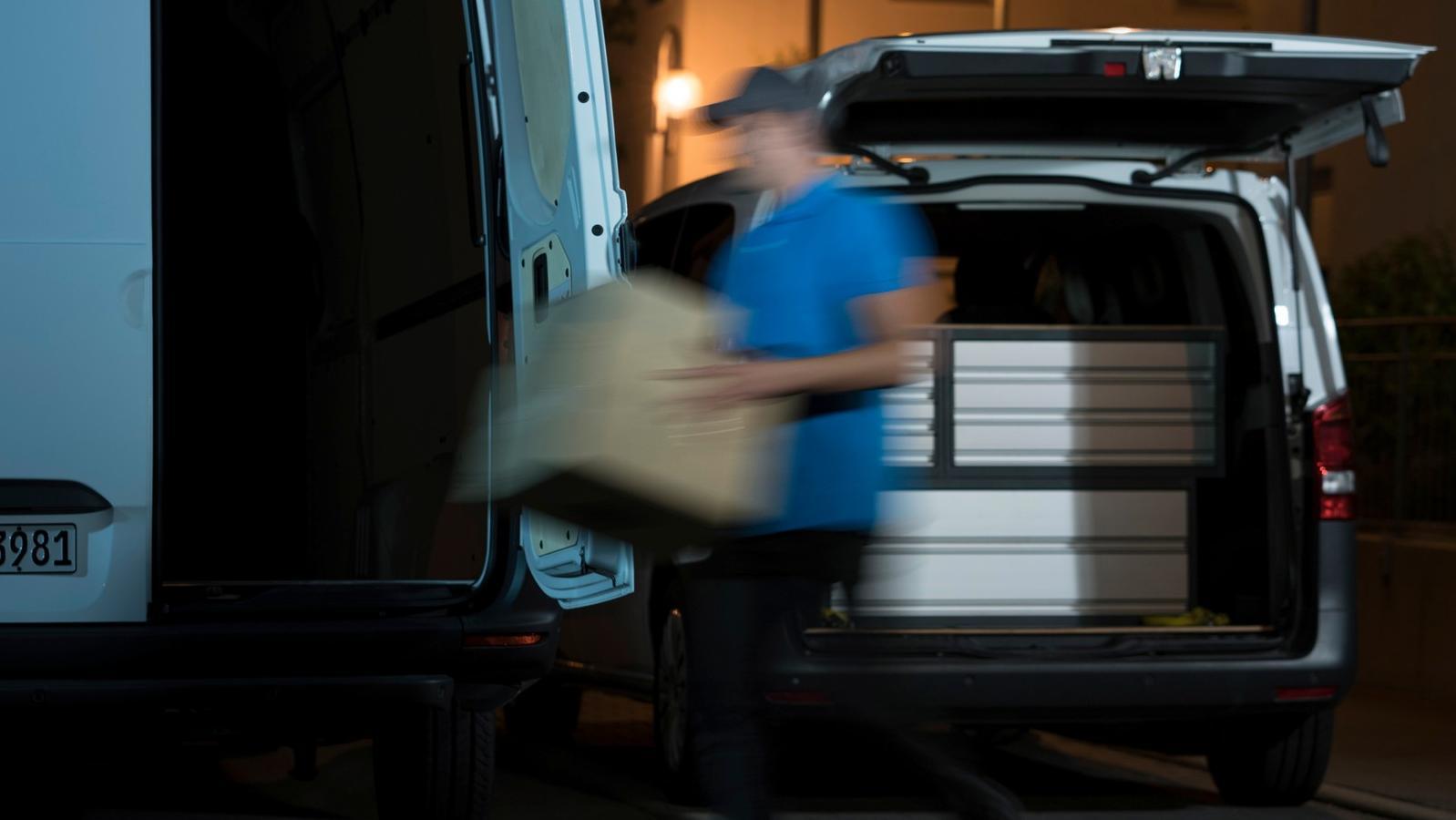Mit digitalen App-Diensten könnten Material-Lieferungen direkt ins Service-Fahrzeug erfolgen.